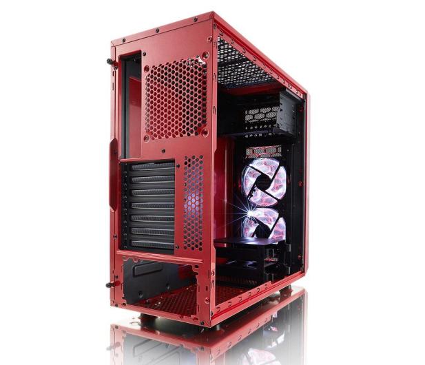 Fractal Design Focus G Window czerwony - 387610 - zdjęcie 6