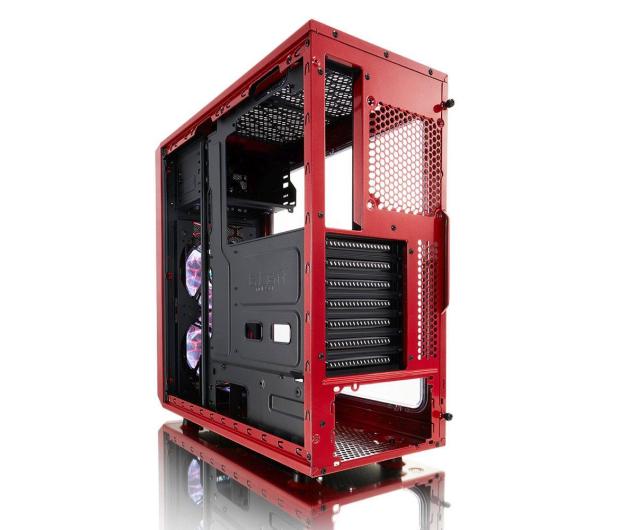 Fractal Design Focus G Window czerwony - 387610 - zdjęcie 7
