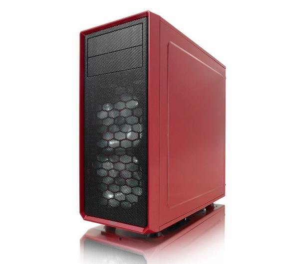 Fractal Design Focus G Window czerwony - 387610 - zdjęcie 4