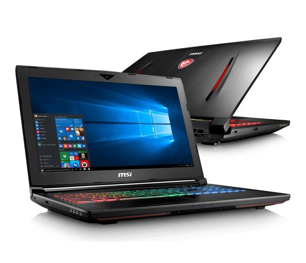 MSI GT62VR Dom. Pro i7-7820HK/32/1TB+512/Win10 GTX1070 - 342596 - zdjęcie