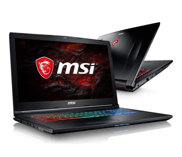 MSI GP72MVR i7-7700HQ/16GB/1TB+256SSD GTX1060  - 391031 - zdjęcie