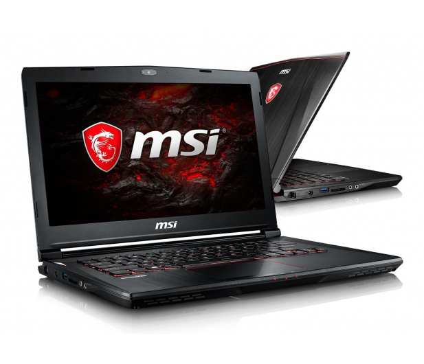 MSI GS43VR i7-6700HQ/16GB/1TB+128PCIe GTX1060   - 321206 - zdjęcie