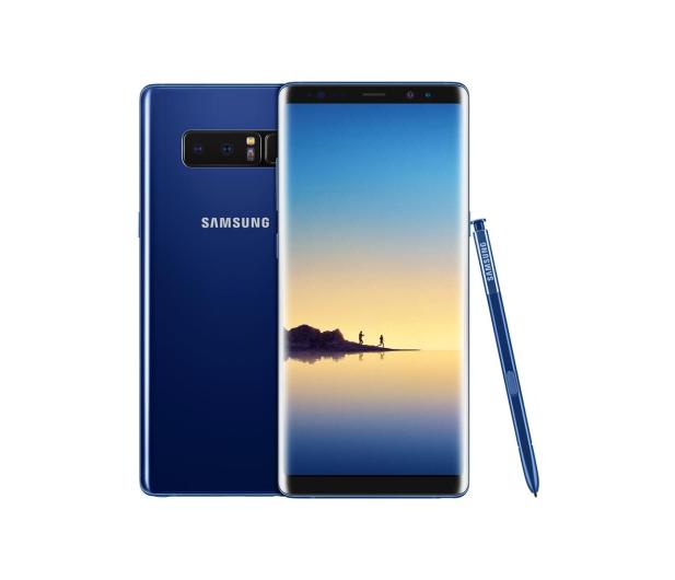 Samsung Galaxy Note 8 N950F Dual SIM Deepsea Blue - 380875 - zdjęcie