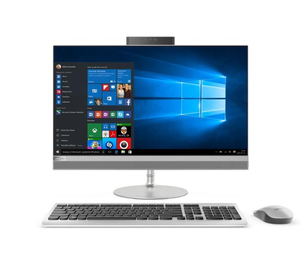 Lenovo AIO 520-24 i5-7400T/8GB/1000/Win10X R530 Srebrny - 401265 - zdjęcie