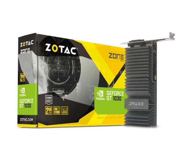 Zotac GeForce GT 1030 Zone Edition 2GB GDDR5 - 387582 - zdjęcie