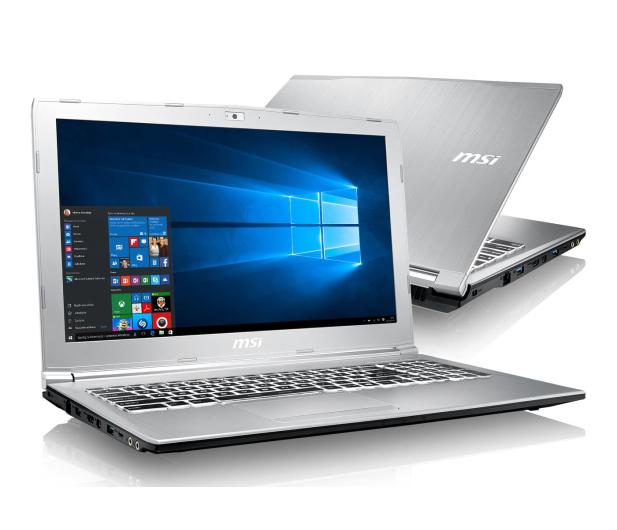MSI PE62 i7-7700HQ/32GB/1TB/Win10 GTX1050  - 375483 - zdjęcie