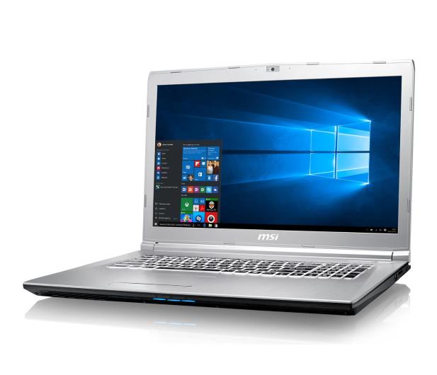 MSI  PE72 7RD i7-7700HQ/16GB/1TB/Win10 GTX1050  - 375516 - zdjęcie 7