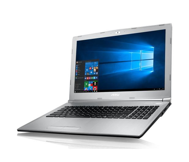 MSI PL62 i7-7700HQ/8GB/1TB/Win10X MX150  - 375413 - zdjęcie 13