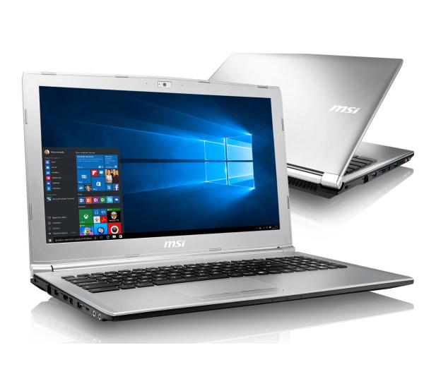 MSI PL62 i7-7700HQ/8GB/1TB/Win10X MX150  - 375413 - zdjęcie