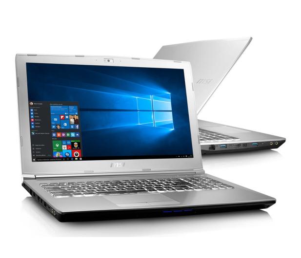 MSI PE60 7RD i7-7700HQ/8GB/1TB/Win10 GTX1050 - 361141 - zdjęcie