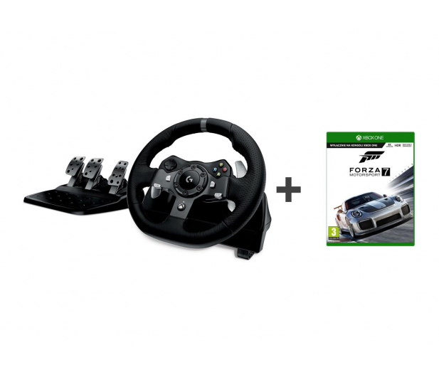 Logitech G920 Driving Force + Forza Motorsport 7 SE - 388896 - zdjęcie