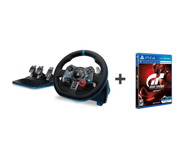 Logitech G29 + Gran Turismo Sport - 388897 - zdjęcie