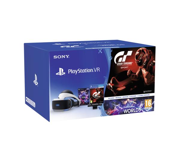 Sony PlayStation VR Gran Turismo Sport+Camera+VR Worlds - 388961 - zdjęcie