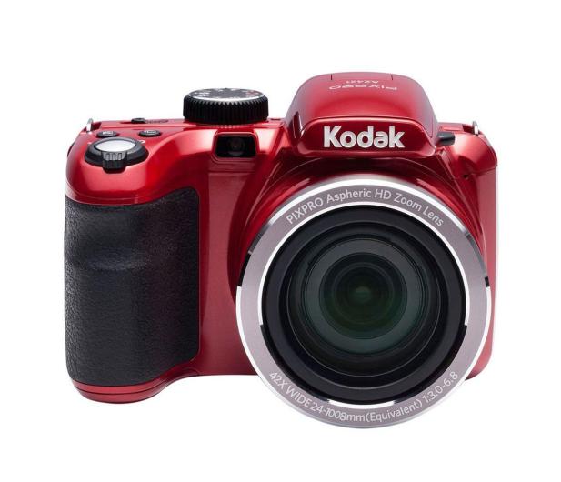 Kodak PixPro AZ421 czerwony - 387491 - zdjęcie