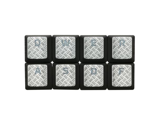 HyperX Nakładki na klawisze do FPS i MOBA (tytanowy) - 389842 - zdjęcie