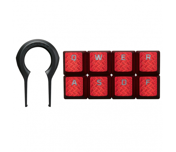 HyperX Nakładki na klawisze do FPS i MOBA (czerwony) - 389841 - zdjęcie 2