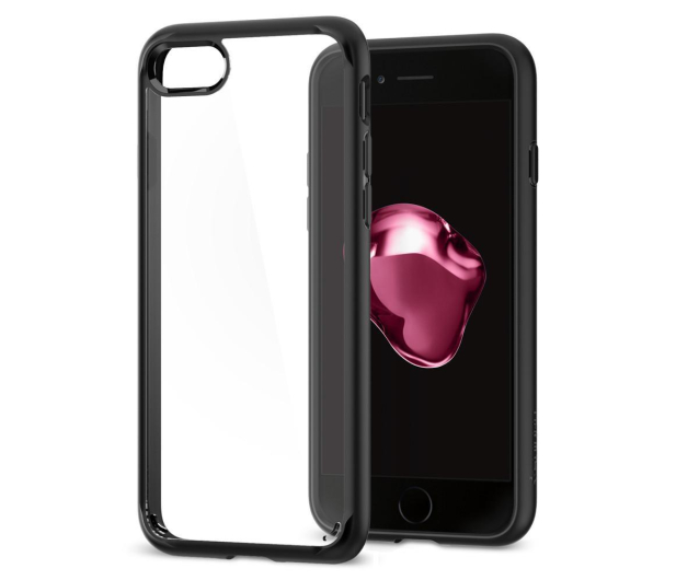 Spigen Ultra Hybrid 2 do iPhone 7/8 Black - 390450 - zdjęcie