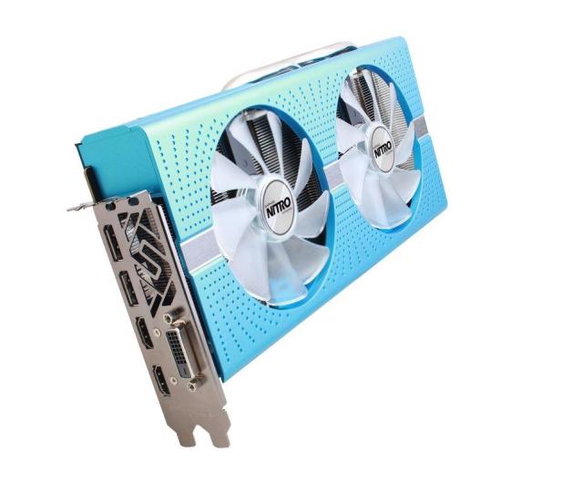 Sapphire Radeon RX 580 NITRO + 8GB GDDR5 - 380613 - zdjęcie 2