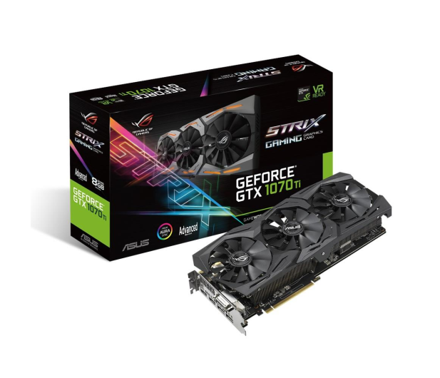 ASUS GeForce GTX 1070 Ti ROG STRIX GAMING 8GB GDDR5 - 390468 - zdjęcie