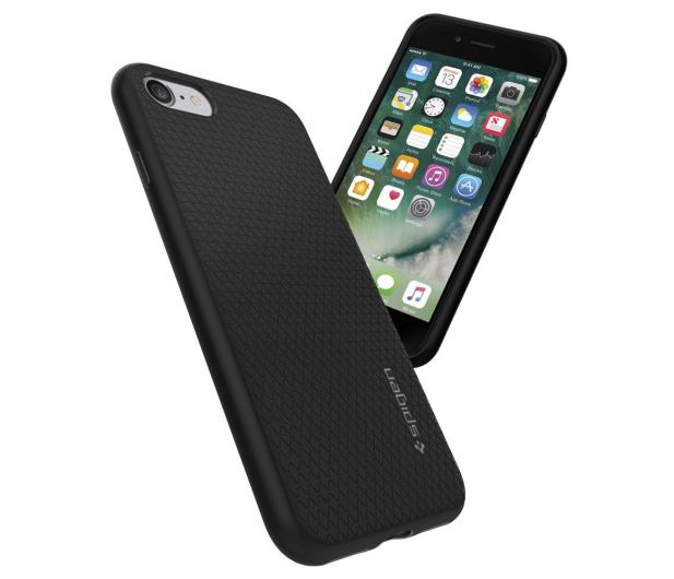 Spigen Liquid Air do iPhone 7/8/SE Black - 390453 - zdjęcie 5