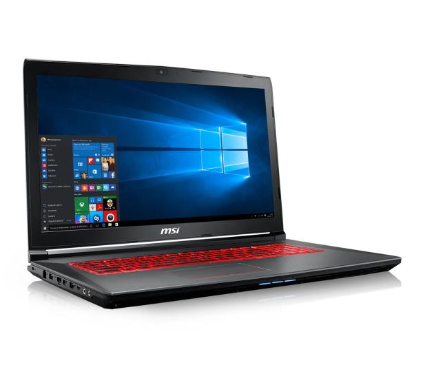 MSI GV72 i7-7700HQ/8GB/1TB/Win10X GTX1050  - 390653 - zdjęcie 4
