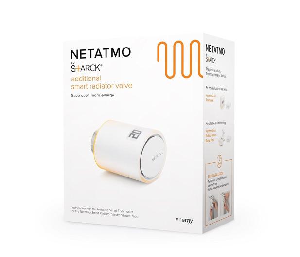 Netatmo VALVES głowica termostatyczna  - 389607 - zdjęcie 6