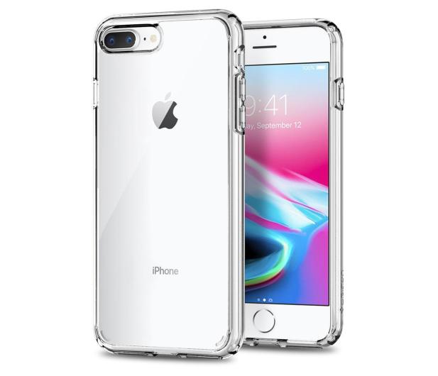 Spigen Ultra Hybrid 2 do iPhone 7/8 Plus Crystal Clear - 390740 - zdjęcie