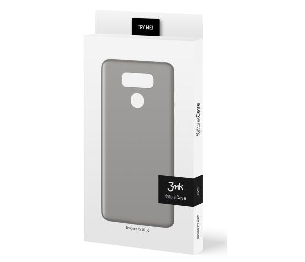 3mk Natural Case do LG G6 Black - 389875 - zdjęcie