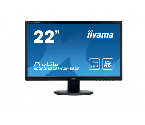 iiyama E2283HS-B3 - 380628 - zdjęcie