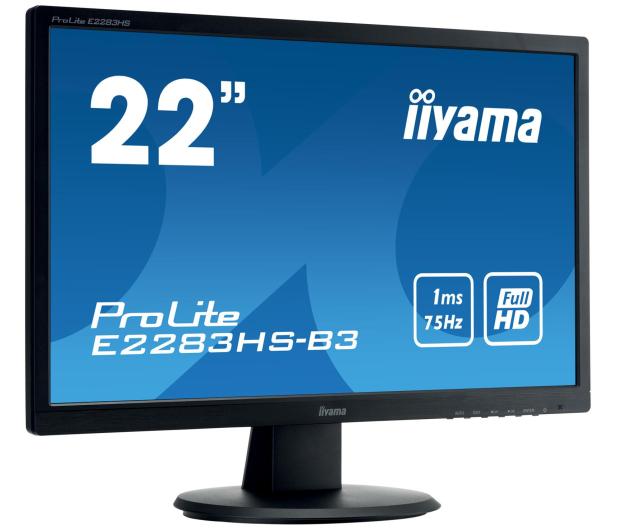 iiyama E2283HS-B3 - 380628 - zdjęcie 2