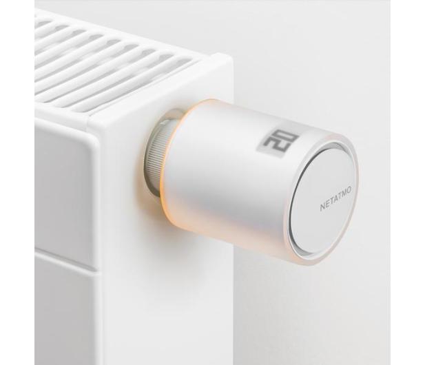 Netatmo Valves Set (2 głowice termostatyczne + przekaźnik) - 389610 - zdjęcie 2