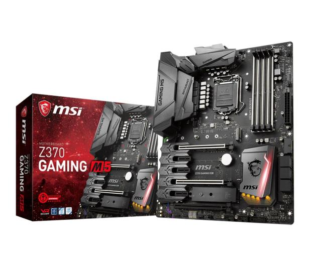 MSI Z370 GAMING M5 (PCI-E DDR4 USB 3.1/M.2) - 384546 - zdjęcie
