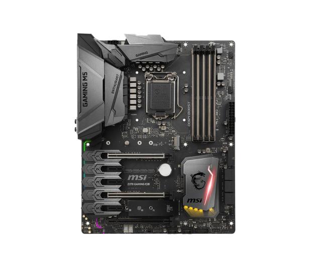 MSI Z370 GAMING M5 (PCI-E DDR4 USB 3.1/M.2) - 384546 - zdjęcie 2
