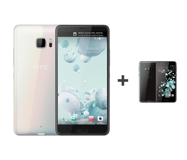 HTC U Ultra LTE biały+ U Play 32GB czarny - 385577 - zdjęcie