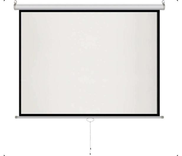 """ART Ekran ręczny półautomat 100"""" 203x152 4:3 - 386036 - zdjęcie 2"""