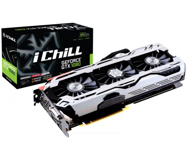 Inno3D GeForce GTX 1080 iChill X4 8GB GDDR5X - 392476 - zdjęcie