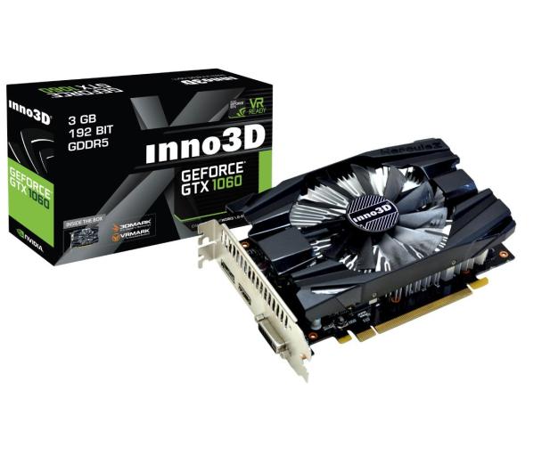 Inno3D GeForce GTX 1060 COMPACT 3GB GDDR5 - 392367 - zdjęcie