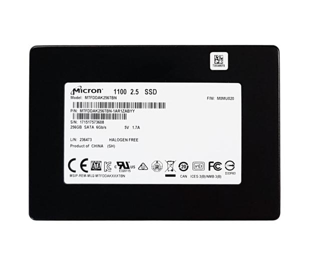 "Micron 256GB 2,5"" SSD M1100 3D NAND OEM - 382690 - zdjęcie 2"