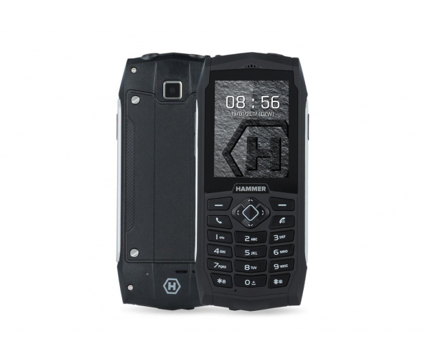 myPhone HAMMER 3 srebrny  - 384773 - zdjęcie
