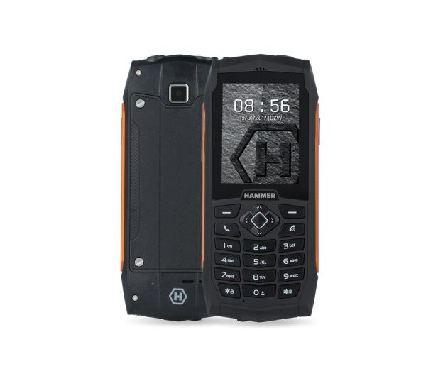myPhone HAMMER 3 Dual SIM pomarańczowy  - 384771 - zdjęcie