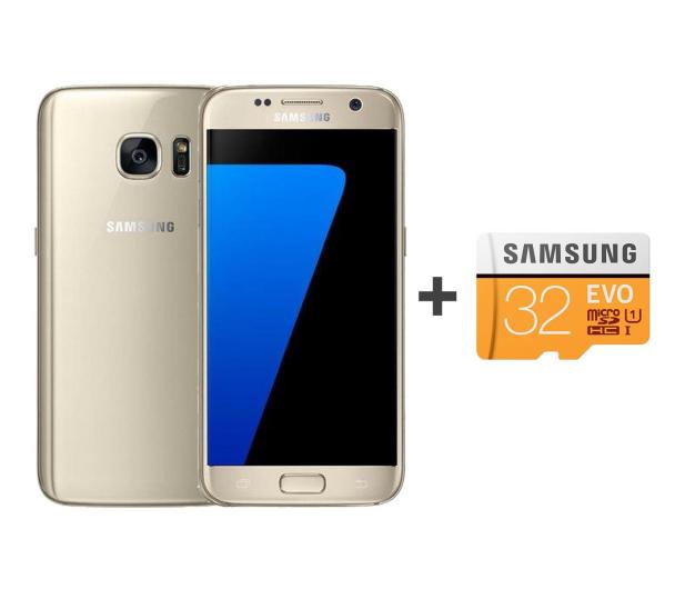 Samsung Galaxy S7 G930F 32GB złoty + 32GB - 392907 - zdjęcie
