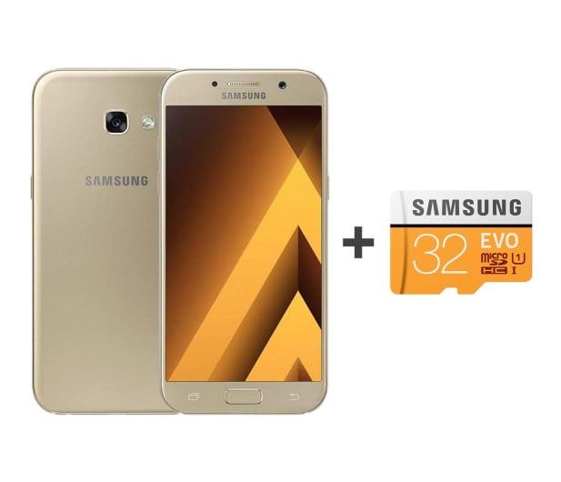 Samsung Galaxy A5 A520F 2017 LTE Gold Sand + 32GB - 392911 - zdjęcie