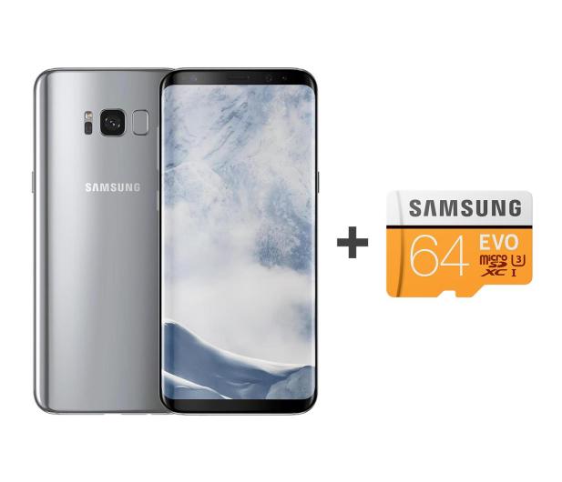 Samsung Galaxy S8+ G955F Arctic Silver + 64GB - 392942 - zdjęcie