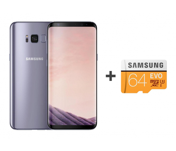 Samsung Galaxy S8 G950F Orchid Grey + 64GB - 392939 - zdjęcie