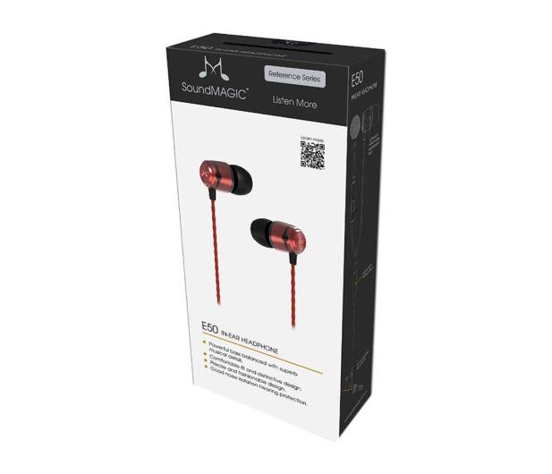 SoundMagic E50 czerwone - 247292 - zdjęcie 4