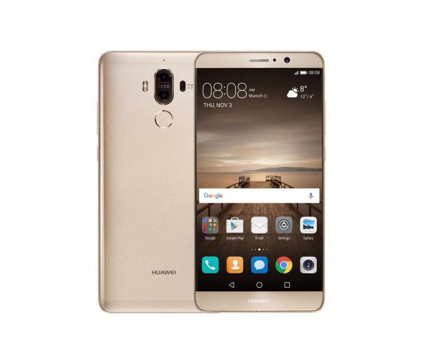 Huawei Mate 9 Dual SIM złoty - 333929 - zdjęcie