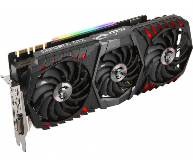 MSI GeForce GTX 1080 Ti GAMING X TRIO 11GB GDDR5X  - 393168 - zdjęcie 3
