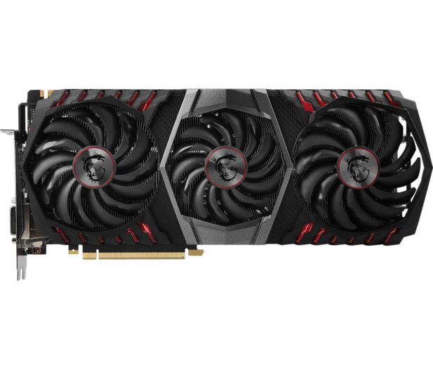 MSI GeForce GTX 1080 Ti GAMING X TRIO 11GB GDDR5X  - 393168 - zdjęcie 2