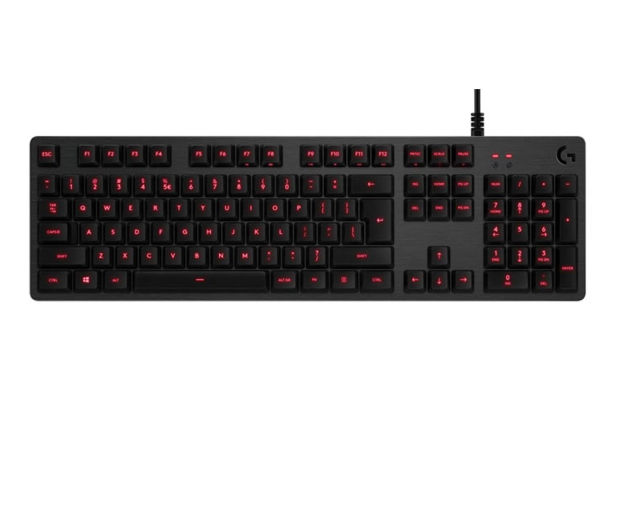 Logitech G413 Mechanical Gaming Keyboard (Carbon) - 362148 - zdjęcie