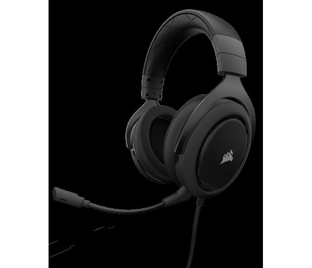 Corsair HS50 Stereo Gaming Headset (czarne) - 393727 - zdjęcie